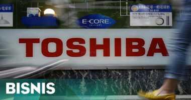 \Saham Toshiba Ditutup Terburuk Selama 36 Tahun\