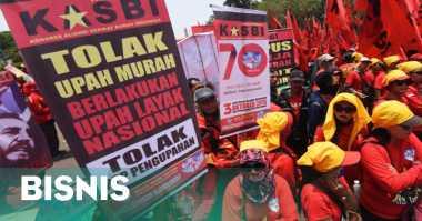 \FSPMI: Aksi Buruh Bukti Gelombang PHK di Depan Mata\