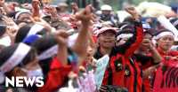 Dikawal Polisi, Ribuan Buruh Tangerang Bergerak ke Ibu Kota