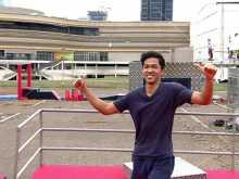 Tempe, Rahasia Sergio Andino di Sasuke Ninja Warrior Indonesia