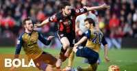Arsenal Unggul Dua Gol di Markas Bournemouth
