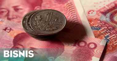 \Jaga Yuan, China Lepas Cadangan Devisa USD99,5 Miliar\