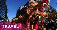 Sambut Imlek, London Tampilkan Naga 66 Meter