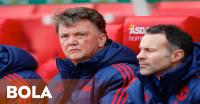 LvG Tolak Komentari Peluang Mourinho Latih United