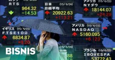 \Pasar Saham Asia Tertekan Sentimen Negatif Eropa dan Amerika\