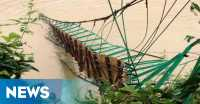 Jembatan di Blitar Putus, Dua Desa Terisolasi