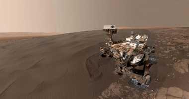 Ini Gambaran Mars dengan Video 360