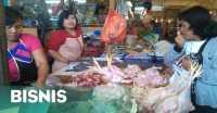 Harga Daging Ayam Ukuran 1,1-1,3 Kg Naik Paling Tinggi