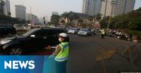 Kondisi Lalu Lintas di Jakarta Pagi Ini