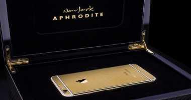 Indahnya iPhone 6s Elite Berlapis Emas 24 Karat