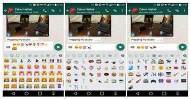 WhatsApp Android Punya Panel Emoji Baru?