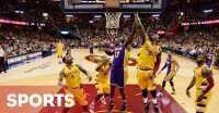 Cleveland  Kalahkan Lakers, Love Cedera Bahu
