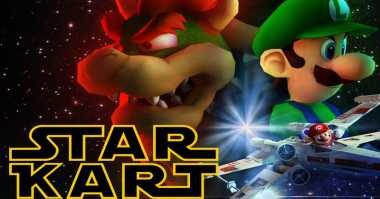 Game Unik Gabungkan Tokoh Super Mario & Star Wars