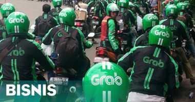 \Driver Grab Protes Skema Baru Penetapan Tarif\