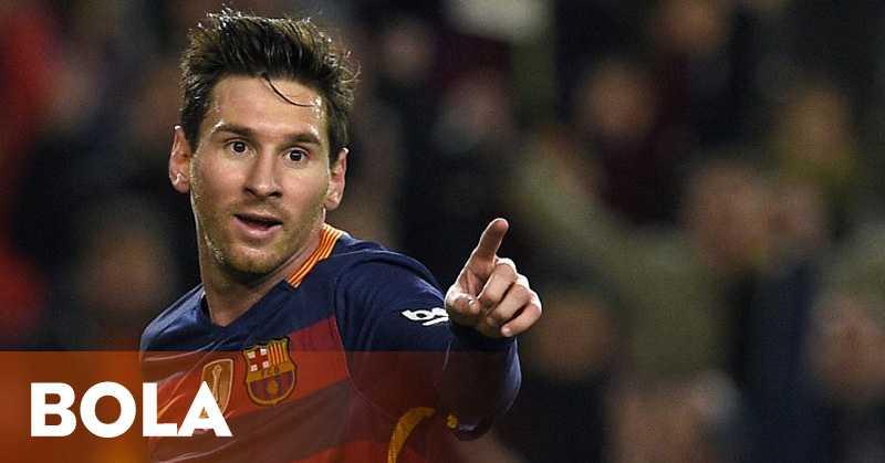 Messi Raih Gelar Pemain Terbaik La Liga