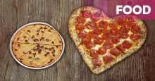 So Sweet...Piza Ini Bentuk Hati untuk Valentine