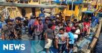 Curi Ikan di Perairan Indonesia, Tujuh Kapal Asal Malaysia Ditangkap
