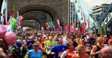Astronot Gabung Maraton London di Luar Angkasa