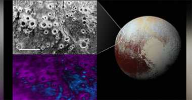 Kawah Aneh Ditemukan di Permukaan Pluto