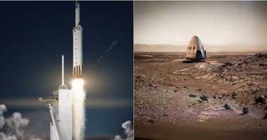 SpaceX Akan Jadi Perusahaan Swasta Pertama Mendarat di Bulan