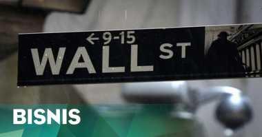 \Laba Emiten Buruk, Wall Street Dibuka Terkoreksi   \