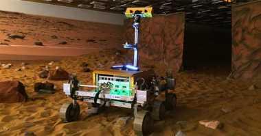 Astronot Inggris Akan Kendalikan Prototipe Rover Mars