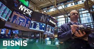 \Wall Street Anjlok Terpukul Data Konsumen\