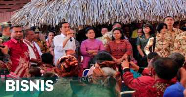 \Presiden Jokowi: Pembangunan Pasar Jayapura Sudah Ditunggu Mama-Mama\
