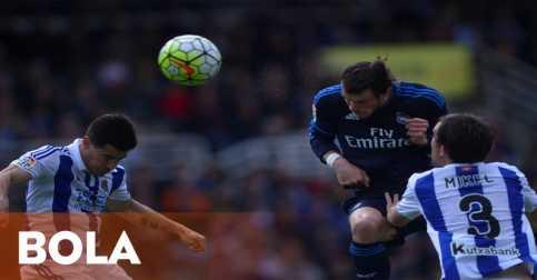 Tundukkan Sociedad, Madrid Geser Barca dari Puncak Klasemen
