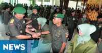 Tujuh Perwira Kodam Diponegoro Dimutasi