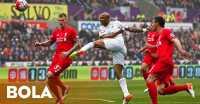 Swansea Buat Liverpool Tak Berdaya