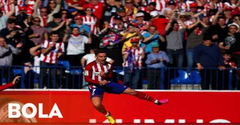 Atletico Naik ke Puncak Klasemen La Liga