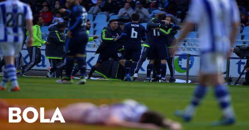 Madrid Cetak Kemenangan Beruntun Ke-10
