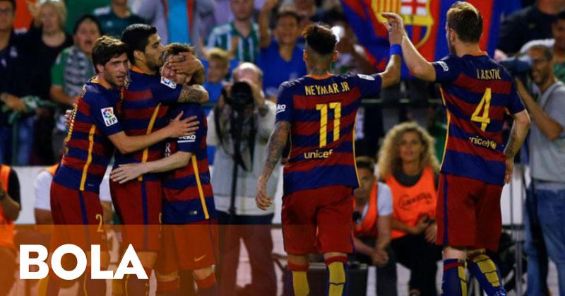 Barca Sukses Kembali ke Puncak Klasemen La Liga