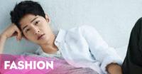 Hanya Pakai Kaus, Song Joong Ki Tetap Ganteng!