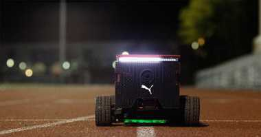 Kecepatan Robot Ini Setara Usain Bolt