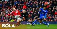 Ditahan Leicester, United Gagal Dekati Empat Besar