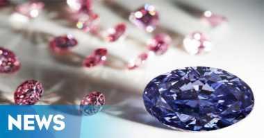 Berlian Ungu Superlangka Ditemukan di Australia