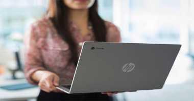 HP Perkenalkan Chromebook 13 Diperkuat Intel Skylake