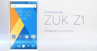Smartphone Zuk Z1 Bakal Adopsi Cyanogen OS