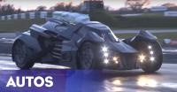 Sangar, Batmobile Gunakan Mesin Lamborghini