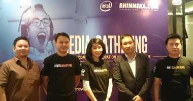 Bhinneka & Intel Kolaborasi Gelar Event #IntelGameTime