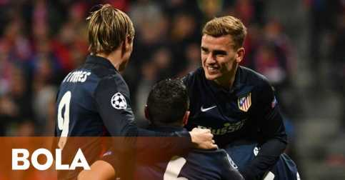 Atletico Madrid Melaju ke Final Liga Champions