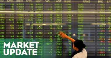 \IHSG 4.822, Menguat Abaikan Lemahnya Data Pertumbuhan Ekonomi   \