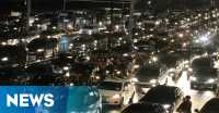 Long Weekend, Sejumlah Ruas Jalan Tol Macet Parah