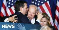 Emosional Pascamundur, Ted Cruz Sikut Wajah Istri
