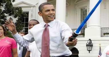 Cara Unik Obama Rayakan Star Wars Day
