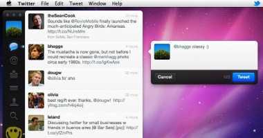 Twitter Versi Mac Kini Lebih Menarik
