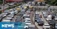 Libur Panjang, Ratusan Ribu Kendaraan Padati Tol Cikampek