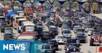 Urai Kemacetan di Tol, Pengendara Diimbau lewat Kalimalang